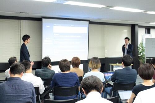 ミエルカ分科会セミナーで質問に回答する石川優貴氏と中本俊一