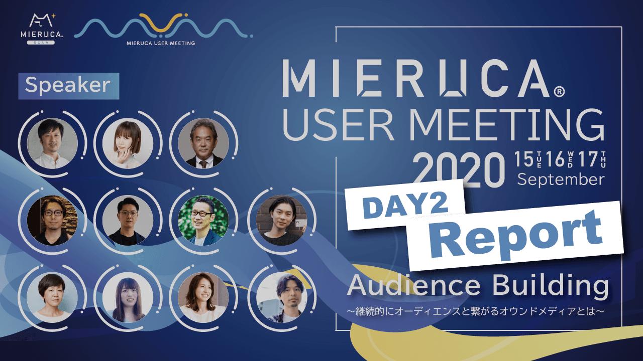 ミエルカユーザー会2020登壇者一覧